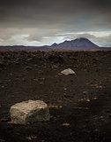 Icelandic rugged landscape