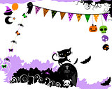 halloween party design
