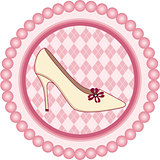 Shoe Round Label