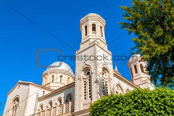 Ayia Napa orthodox cathedral. Limassol. Cyprus