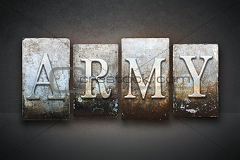 Army Letterpress Theme