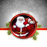 Santa christmas design