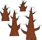 Four Dead Trees