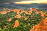 Las Médulas of Leon, Spain