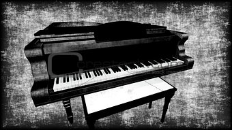 Old Grungy Piano