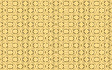 cream and yellow background with black design