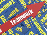 Teamwork arrow