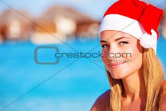 Christmas celebration on Maldives