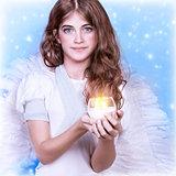 Teen girl angel