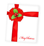 Merry Christmas greeting card