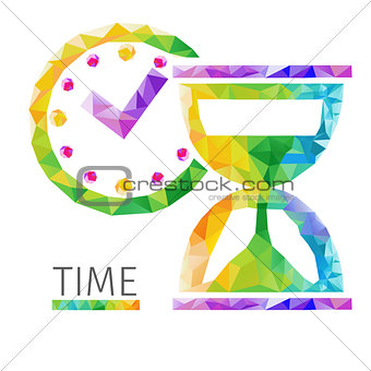 Time polygon vector