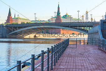 Bridge over the Moscow river near Red Square