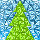 Christmas Mosaic Pattern