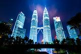 KUALA LUMPUR, MALAYSIA - Petronas Towers