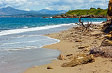 Summer beach view (Greece, Lefkada).