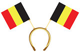 Cool headdress flags Belgium