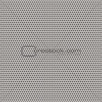 Black small and big circles pattern