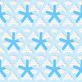Blue 3d net on textured white and gray pattern