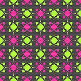 Dot textured pattern with pink and bright green
