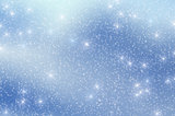 Snow Stars Christmas Background 3