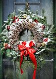 homemade christmas wreath