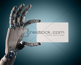 Blank Card Robot