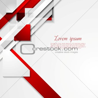 Bright modern geometry background