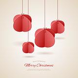 Stylized christmas balls