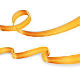 Golden ribbons set image