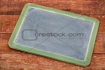 blank slate blackboard sign