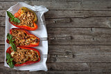Bell Peppers Stuffed