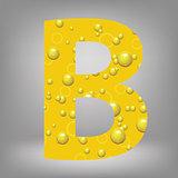 beer letter B