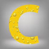 beer letter C