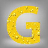 beer letter G