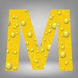 beer letter M