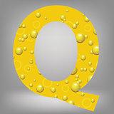 beer letter Q