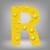 beer letter R