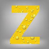 beer letter Z