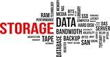 word cloud - storage