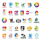 Biggest collection of vector logos for the photographer