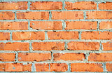 New brick wall
