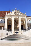 Entrance of Coimbra University, Portugal