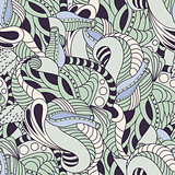 Soft color floral seamless pattern