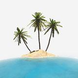 isolated tropical island 2