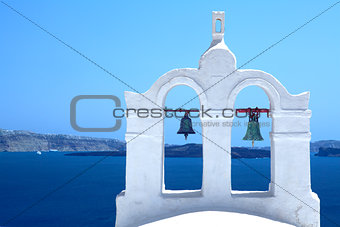 Santorini  bels, Greek