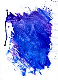 Painted Blue Texture