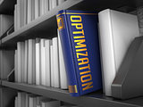 Optimization - Title of Blue Book.