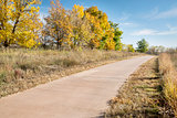 paved bike trail