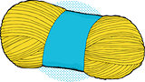 Yellow Bundle of Yarn
