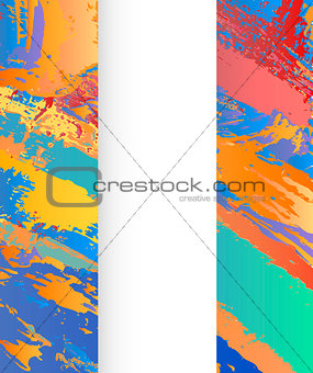 background abstract painting design